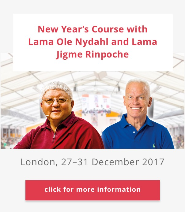 New Year's Course with Lama Jigme Rinpoche and Lama Ole Nydahl in London